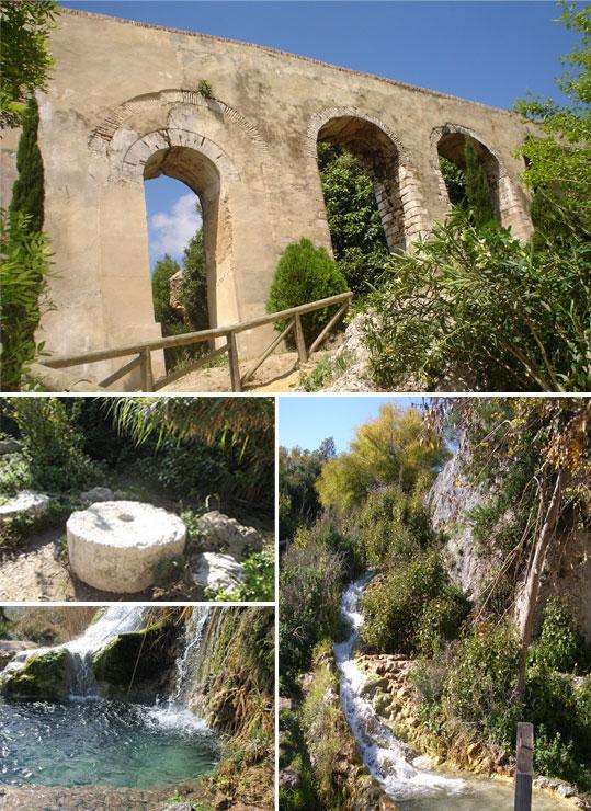 Vista de los Molinos y el Acueducto