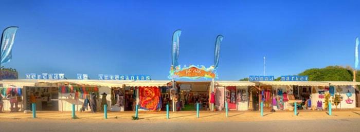 Mercado Artesanias Nomada en El Palmar