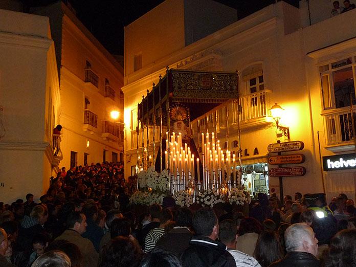 Procesión de Semana Santa en Vejer de la Frontera