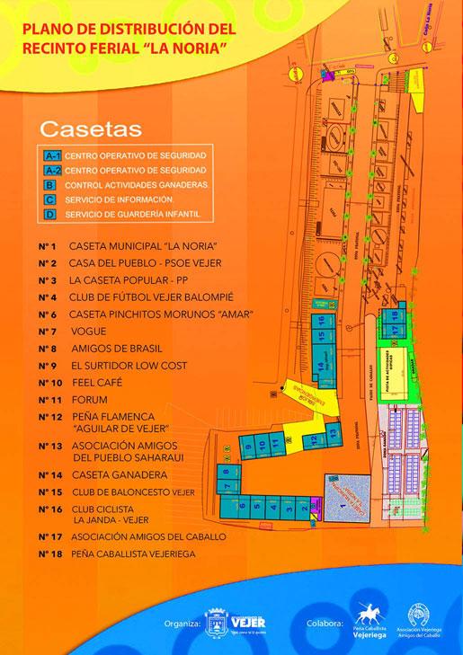 Plano Casetas de la Feria 2017