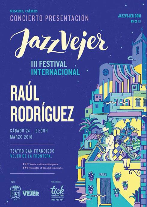 Cartel Concierto Presentación Festival de Jazz