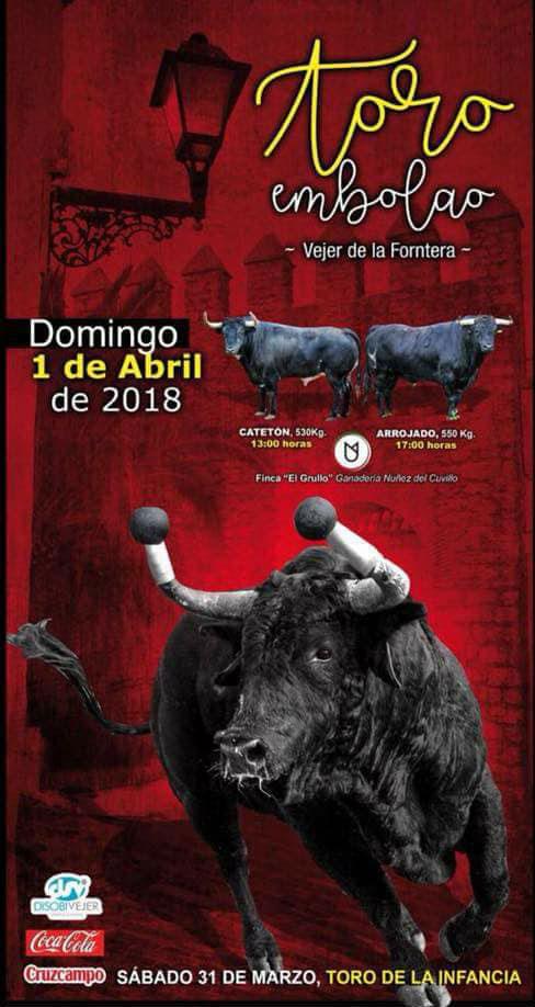 Toro Embolao Vejer 2018