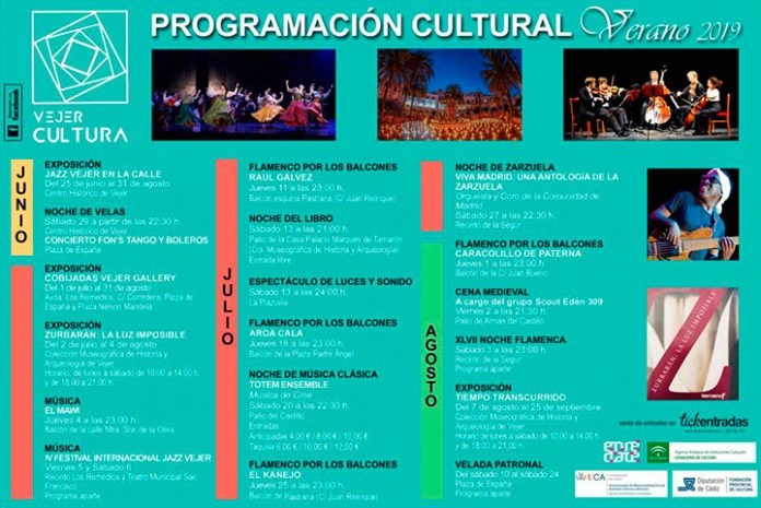 Verano Cultural Vejer 2019