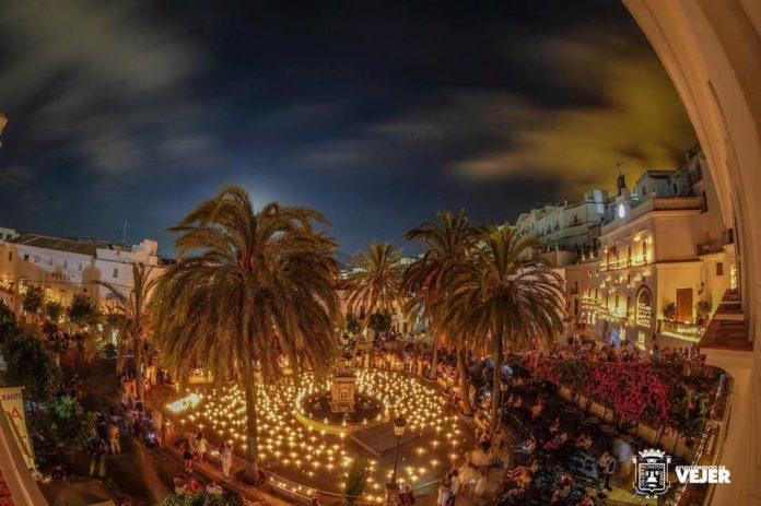 Noche de Velas en Vejer 2019