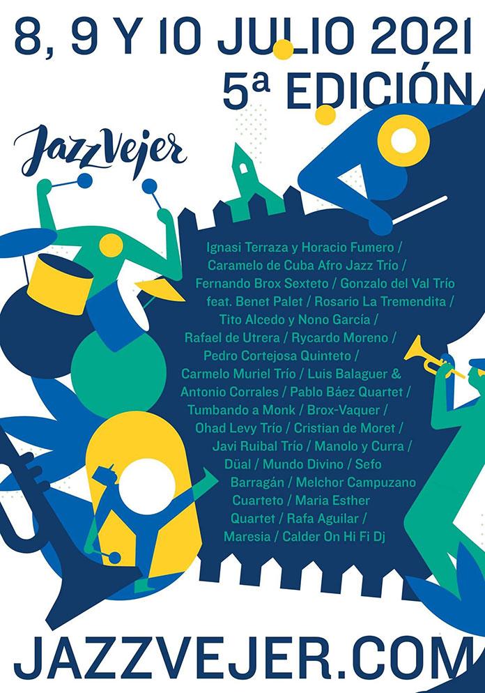 Artistas conciertos Jazz Vejer 2021